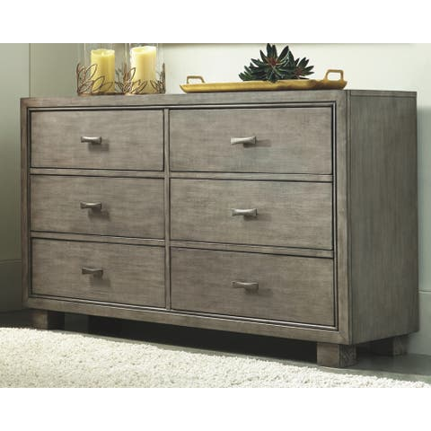 Arnett Dresser - Casual Style - Gray