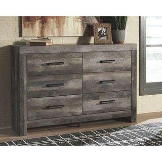 Wynnlow Rustic Gray 6-Drawer Dresser