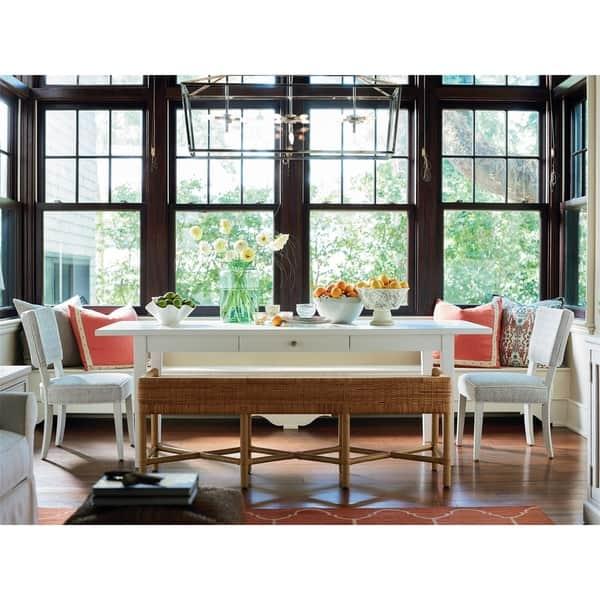 Shop The Coastal Living Escape Cottage Dining Table White 86w