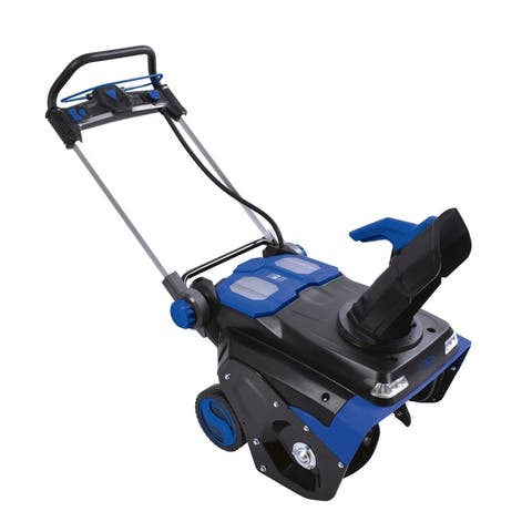 Snow Joe 21 In,100V 5 Ah Brushless Lithium-iON Cordless Single Stage Snowblower