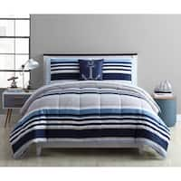 Porch & Den Hackle Stripe Bed-in-a-Bag Comforter Set
