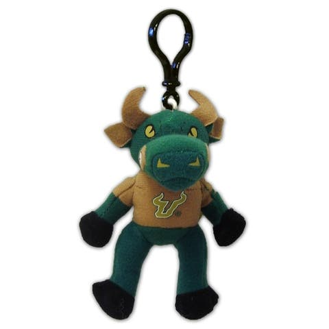 Encore Team Heads South Florida Bulls Rocky The Bull Key Chain Clip
