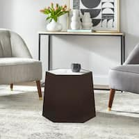 angelo:HOME Wallace Hexagonal Side Table