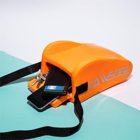 Raggin Orange LA Wedge-Beach Headrest Pillow & Accessory Bag