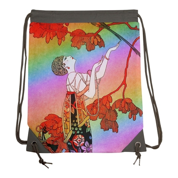 dc3766ef99bc Shop Rainbow Woman in Red Gym Bag - 15.5