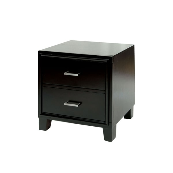 Williams Home Furnishing Enrico I Contemporary Night Stand in Cherry