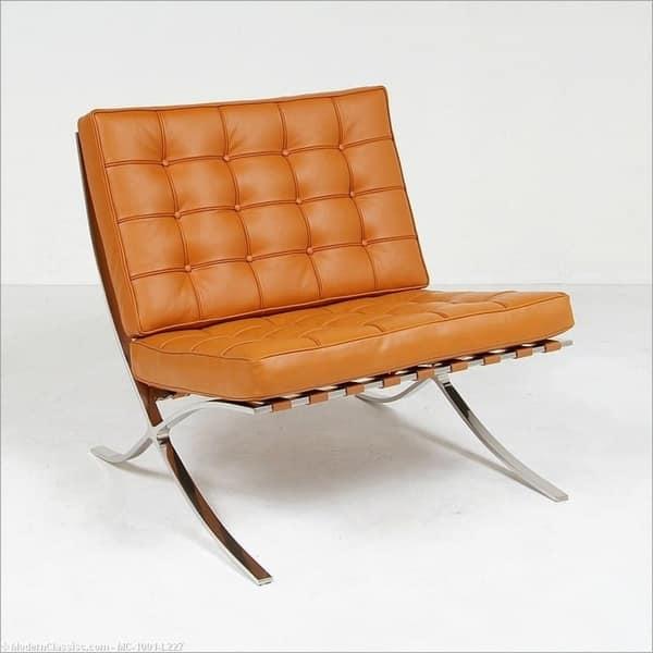 Cool Mid Century Modern Barcelona Style Replica Chair Inzonedesignstudio Interior Chair Design Inzonedesignstudiocom
