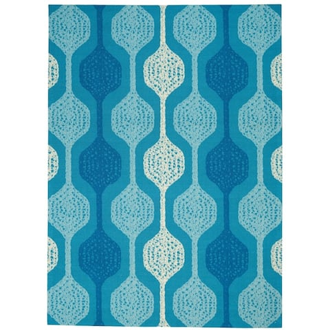 Wanderly Geometric Indoor/Outdoor Area Rug by Havenside Home