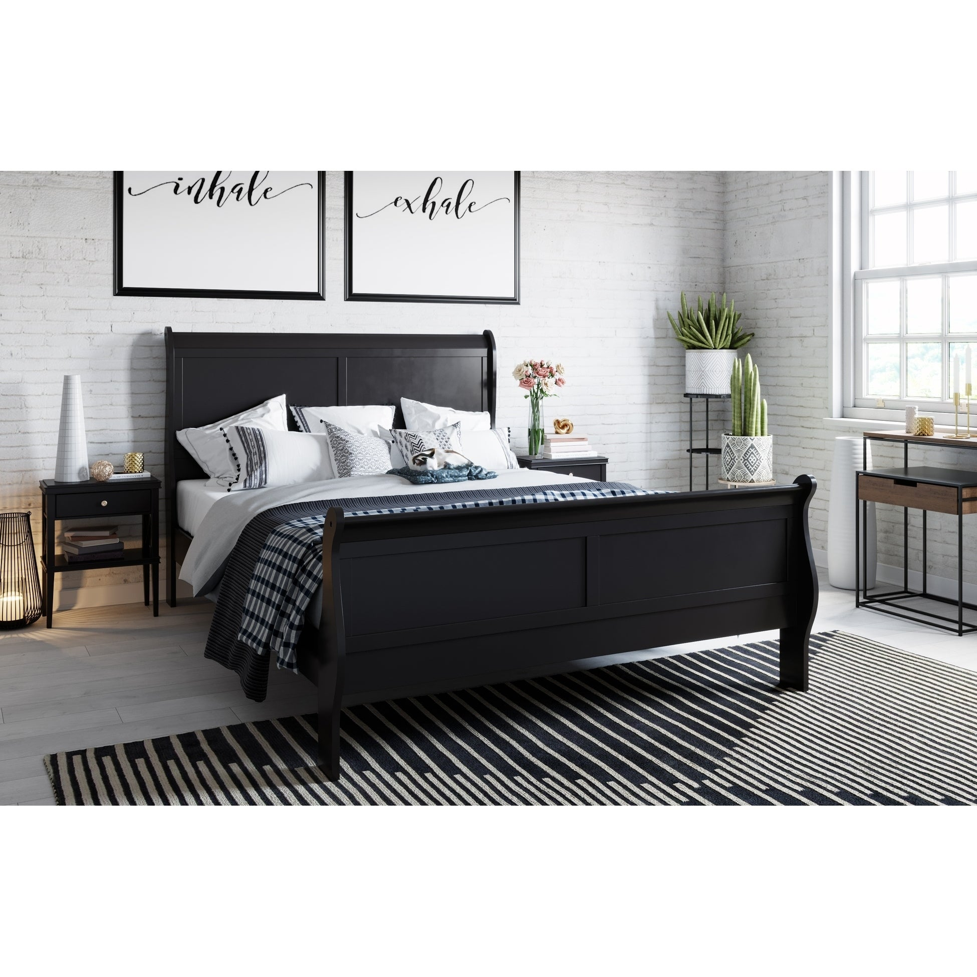 Shop Black Friday Deals On Copper Grove Samokov Contemporary Wood Bed Overstock 27420661