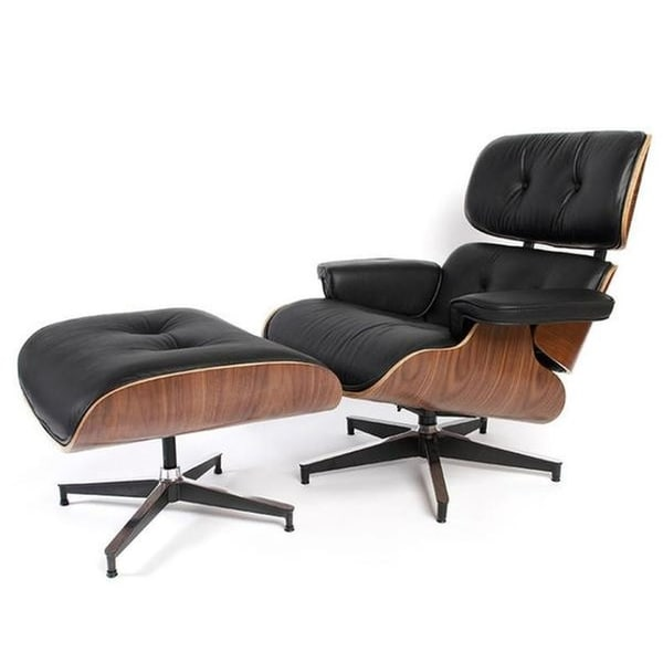 Shop Mid-Century Modern Replica Lounge Chair-Walnut