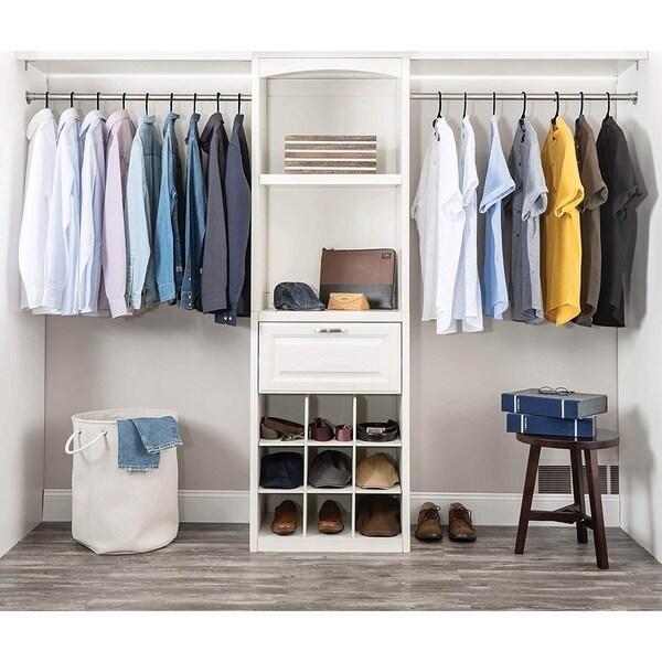 60 Pack Plastic Tubular Adult Hangers 16.5 Inch Clothes Hangers Suit//Shirt//Pants