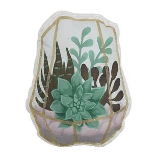 Succulent 13x16 Decorative Throw Pillow