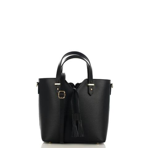 Uchuva Tote Genova Genuine Leather Designer handbag for women