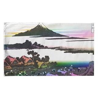 Katsushika Hokusai Dawn At Isawa In Kai Province In Rainbow Tea Towel 18 X 30 Overstock 27424286