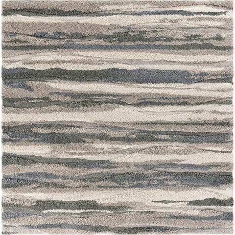 Domani Oxford Grey Transitional Area Rug