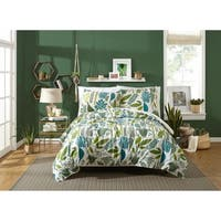 Jardin Queen Duvet Set by Justina Blakeney , 3 Piece Set