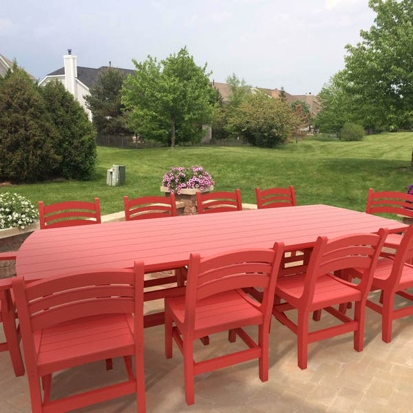 Pleasing Shop Durawood 120 Inch Patio Dining Table N A Free Lamtechconsult Wood Chair Design Ideas Lamtechconsultcom
