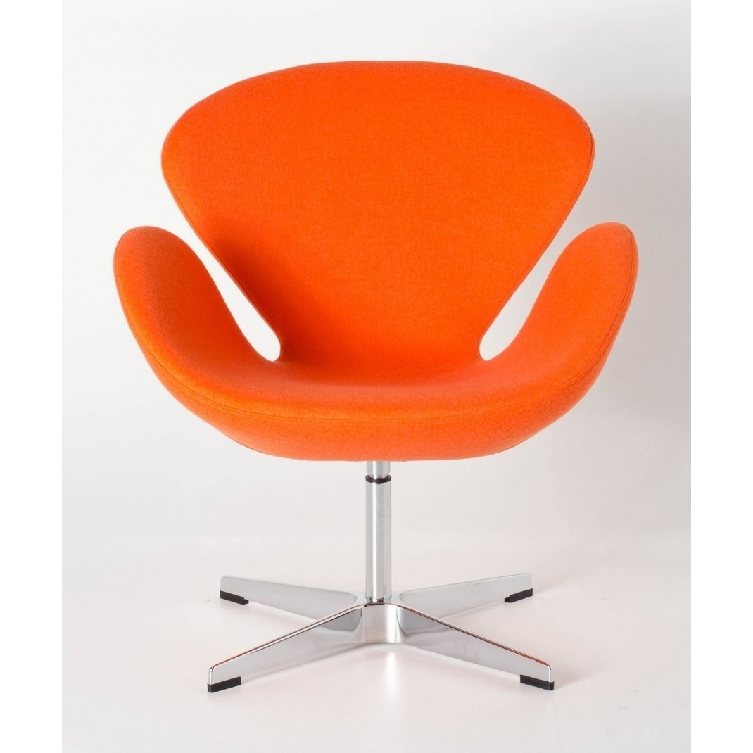 Mid century modern design replica swan chair