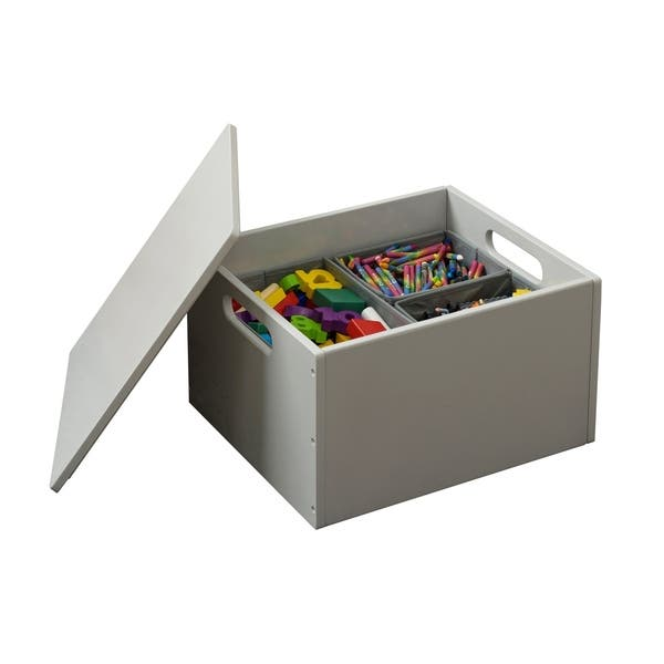 Pleasant Tidy Books Handmade Wooden Toy Storage Sorting Box With Lid Pale Grey Ncnpc Chair Design For Home Ncnpcorg