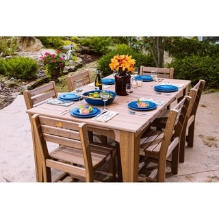 Outdoor Island Dining Set - Table and 6 Chairs