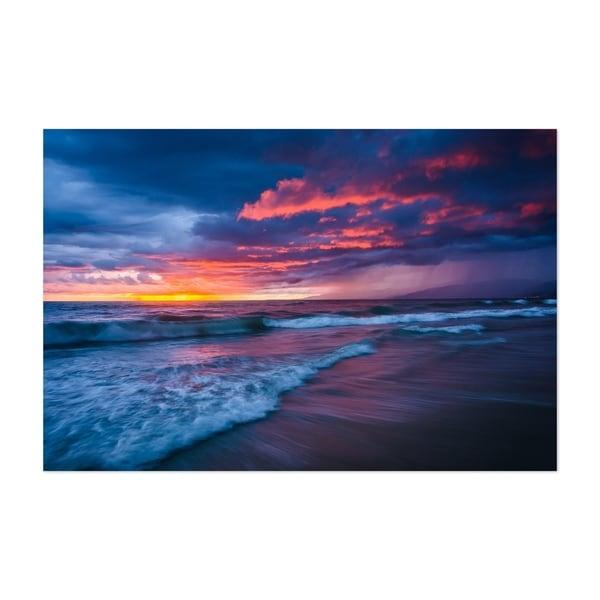 Noir Gallery Sunset Venice Beach California Unframed Art Print/Poster