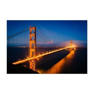 Noir Gallery Golden Gate Bridge San Francisco Unframed Art Print/Poster