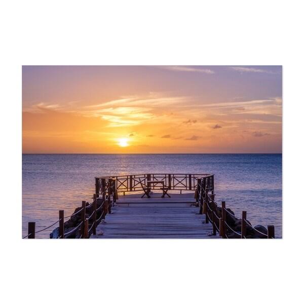 Noir Gallery Saint Lucia Beach Coastal Nature Unframed Art Print/Poster