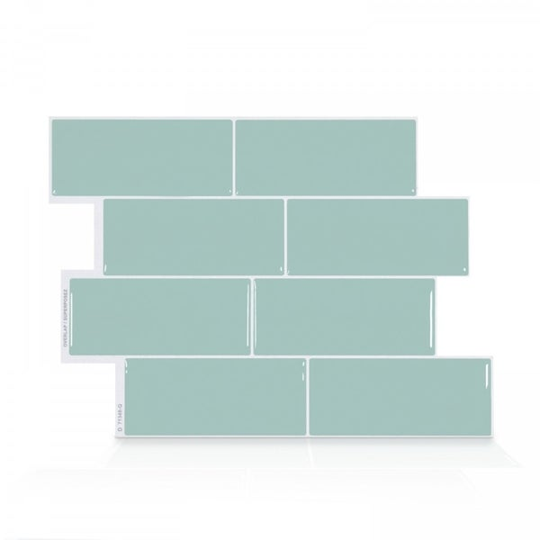 Up To 45 Off Peel Stick Kitchen Backsplash Tile At Walmart: Shop Metro Mia 11.56 In. X 8.38 In. Peel And Stick Self