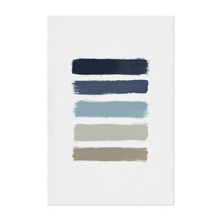 Noir Gallery Abstract Minimal Stripe Painting Unframed Art Print/Poster