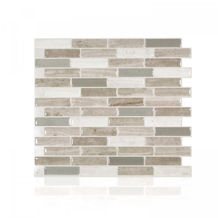 - Shop Milenza Vasto 10.20 In. X 9 In. Peel And Stick Self-Adhesive