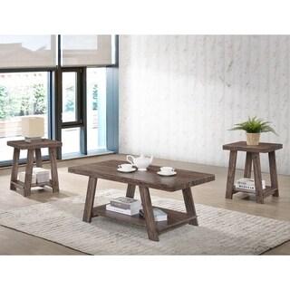 Gustine Open-Shelf Coffee Table Set