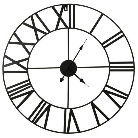 Metal & Solid Wall Clock (60 diameters)