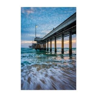 Noir Gallery Coastal Venice Beach California Unframed Art Print/Poster
