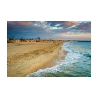 Noir Gallery Seal Beach California Sunset Unframed Art Print/Poster