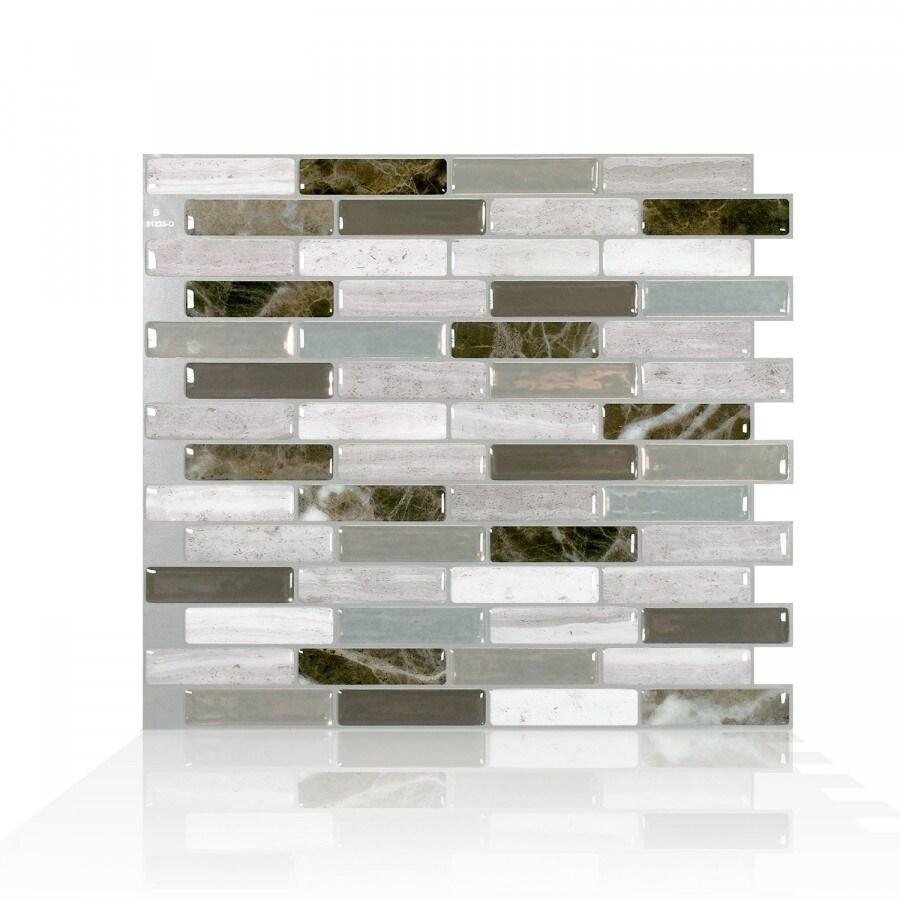 - Shop Milenza Genoa 10.20 In. X 9 In. Peel And Stick Self-Adhesive