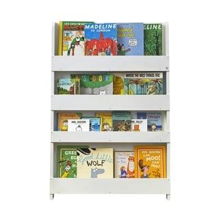 Tidy Books Kid's Handmade Wooden Bookshelf in Water Lacquer Finish - White