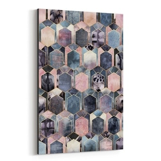 Noir Gallery Geometric Abstract Art Deco Canvas Wall Art Print