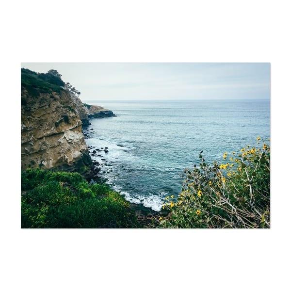 Shop Noir Gallery La Jolla California Cliffs Unframed Art Print Poster Overstock 27438942