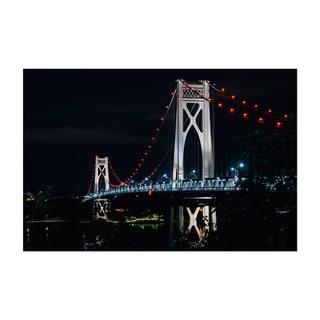 Noir Gallery Mid Hudson Bridge Poughkeepsie Unframed Art Print/Poster