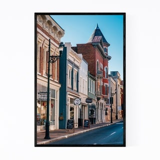 Noir Gallery Downtown Staunton Virginia Urban Framed Art Print
