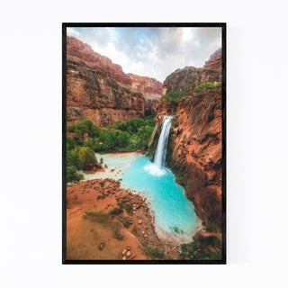 Noir Gallery Havasu Falls Arizona Desert Framed Art Print
