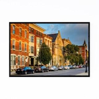 Noir Gallery Cincinnati, Ohio Over-The-Rhine Framed Art Print