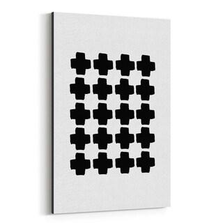Noir Gallery Minimalist Abstract Geometric Canvas Wall Art Print