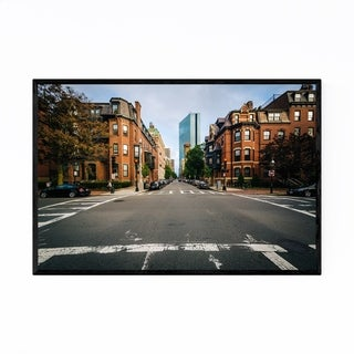 Noir Gallery Boston Back Bay Historic Framed Art Print