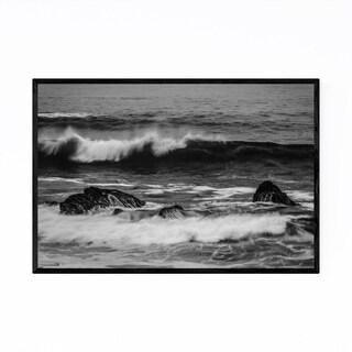 Noir Gallery Black & White Pacific Grove CA Framed Art Print