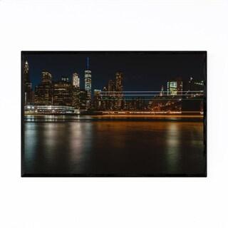 Noir Gallery New York City Skyline East River Framed Art Print