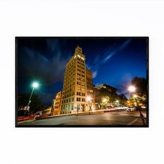 Noir Gallery Asheville, North Carolina City Framed Art Print
