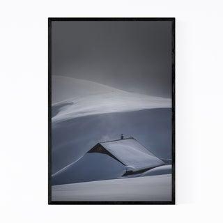 Noir Gallery Melchsee-Frutt Switzerland Alps Framed Art Print