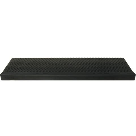 """Rubber-Cal """"Coin-Grip Commercial"""" Rubber Step Mat - 2 Sizes"""