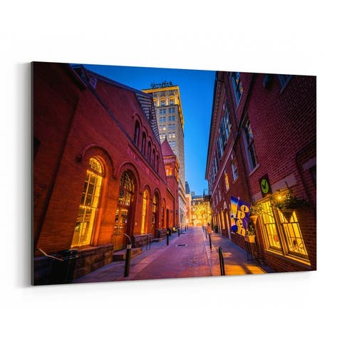Noir Gallery Lancaster Central Market PA Canvas Wall Art Print